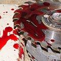 #piła #ObróbkaDrewna #krew #masakra