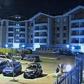 osiedle nocą #rzym #roma #włochy #italia #osiedle #blok #ViaMiro