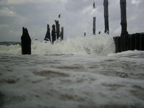 bałwanek #morze #fale #wybrzeże #fala #bliskość