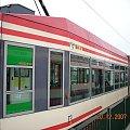 Przedni człon NGd99 na Chełmie #Bombardier #Chełm #Citadis #Gdańsk #tramwaj #tramwaje #ZKMGdańsk