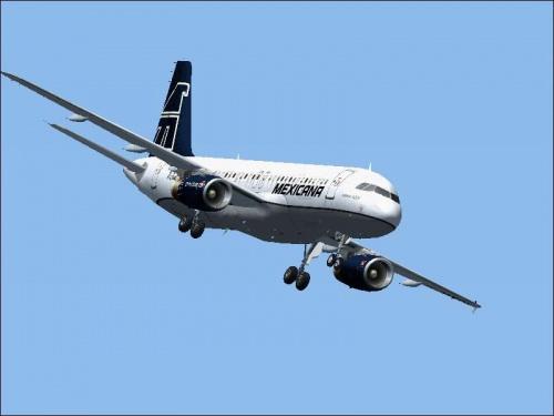 Lądowanie samolotu Boeing 737-300 w Meksyku. #samolot #lądowanie #powietrze #sky #meksyk