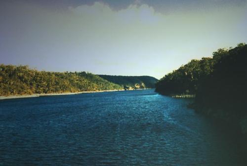 Warragamba tama, stąd Sydney pije wodę... #Warragamba #zalew #WodaDoPicia #tama