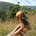 bieszczady 2007 #ludzie #kobieta #portret #postać #uroda #góry #Bieszczady #widoki