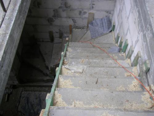 Schody widok z góry... #BudowaAgatkaIngProjekty