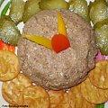 Pasta z jajka i wątróbki drobiowej.Przepisy na : http://www.kulinaria.foody.pl/ , http://www.kuron.com.pl/ i http://kulinaria.uwrocie.info #pasty #jajko #WątróbkaDrobiowa #śniadanie #kolacja #kanapki #jedzenie #kulinaria #gotowanie
