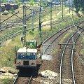 02.07.2008 Drezyna PLK (WŻA-10L 8221) opryskuje odcinek między stacją w Kostrzynie a stacją towarową KoB. #Drezyna #PLK #kolej #Kostrzyn