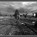 Nastawnia w Parowozowni Międzyrzecz - stan dzisiejszy #Międzyrzecz #Obra #kolej #pociąg #parowóz #szyny