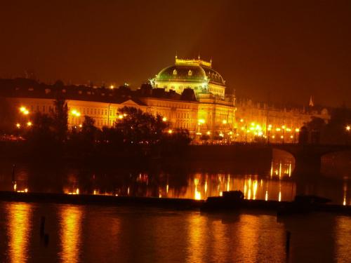 Widok z Mostu Karola na Hradczany #Praga