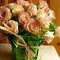 bukiet z herbacianych róż #bukiet #kwaity #róże