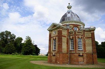 Archer Pavilion - służył do ..podejmowania gości herbatą