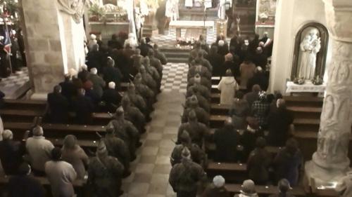 Msza za Ojczyznę 2 styczeń 2009 r - bazylika św. Trójcy w Strzelnie