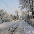 Foto: Sylwester Nicewicz - Kozioł i rzeka Pisa w zimowej szacie #Kozioł #rzeka #Pisa #Święty #Brunon #Droga #góra #Krzyżowa #Kwerfurtu #nicewicz #krajobraz #kościół #zima #foto #Sylwester #kolno #kurpie #podlaskie