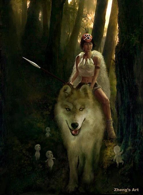 Pani wilków VIII