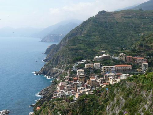 Cinque Terre widok na Romazzino #Liguria #Włochy #Wybrzeże
