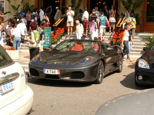 Tłum i piękne samochody #MonacoIMonteCarlo