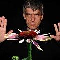Myślomag:) Magiomyśliciel:) Nasz Grzegorz-myśliciel i zaczarowany kwiat:))) moc pozdrowień :) #kolaż