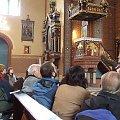 Wnętrze odnawianego kościoła Św. Trójcy w Kochłowicach. Uczestnicy Spaceru historycznego (6 X 2007). Z tyłu ambona. #DniDziedzictwa #NowyKościół #Kochłowice #kochlowice #Kochlowitz